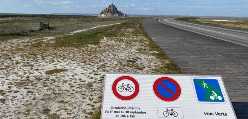 Mont St Michel : Accès autorisé aux vélos pendant l'été 2020